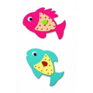 Samolepkový set Milé rybky...