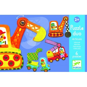 Puzzle Duo dopravné...