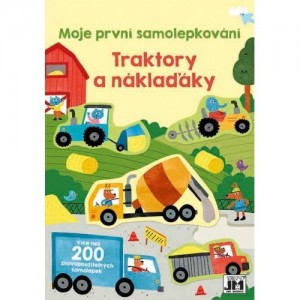 Samolepková knižka Traktory...