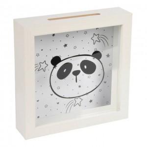 Pokladnička biela (panda)