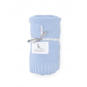 Bambusová deka (modrá)