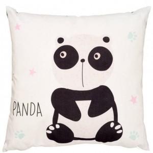 Dekoračný vankúšik (panda)