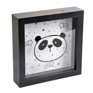 Pokladnička čierna (panda)