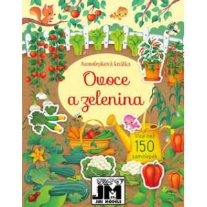Samolepková knižka Ovocie a...