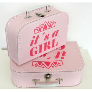 Detský kufrík It's a girl...