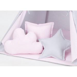 Dekoračné vankúšiky (ružový...