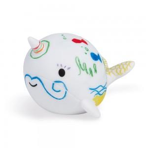 Kreslenie vo vani Veľryba s...