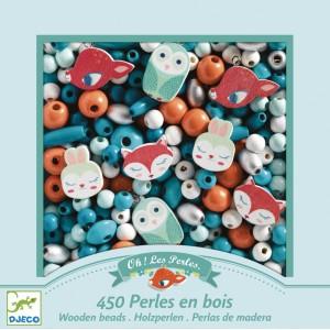 Drevené korálky malé zvieratká