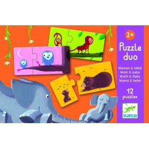Puzzle Duo Mama a bábätko