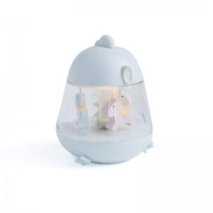 Svietiaca zvonkohra (modrá)