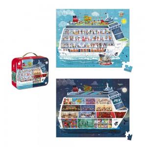 Puzzle Námorná plavba 2v1 v...