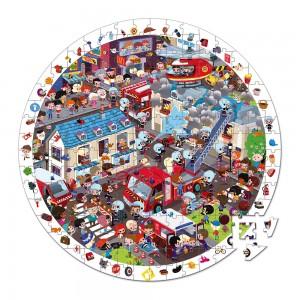 Detské okrúhle puzzle s...