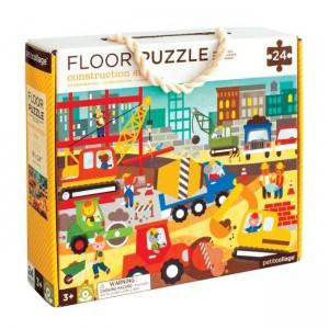 Podlahové puzzle Stavba v...