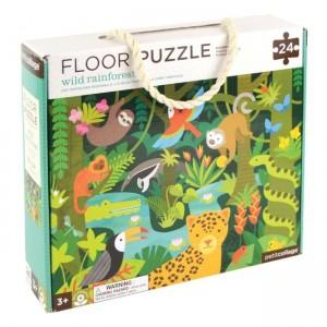 Podlahové puzzle dažďový...