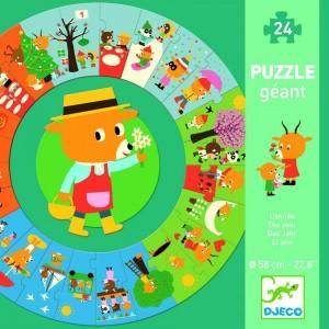 Obrovské puzzle Rok