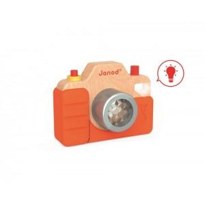 Detský drevený  fotoaparát...