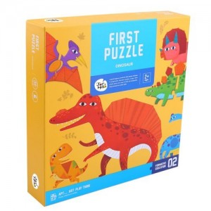 Puzzle First Dinosaury